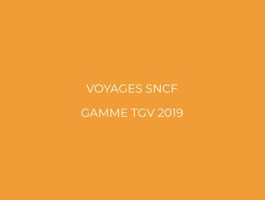 Gamme Tgv 2019