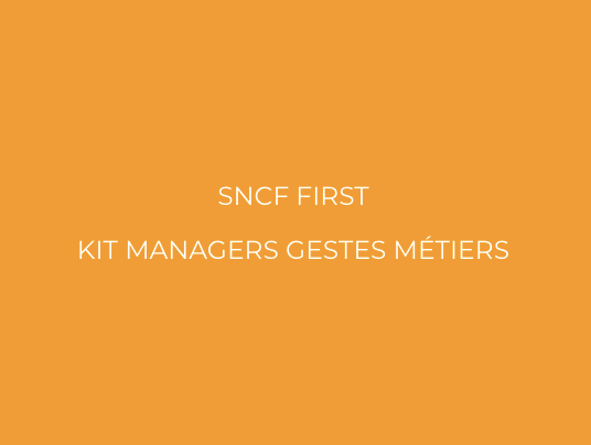 Sncf First Gestes