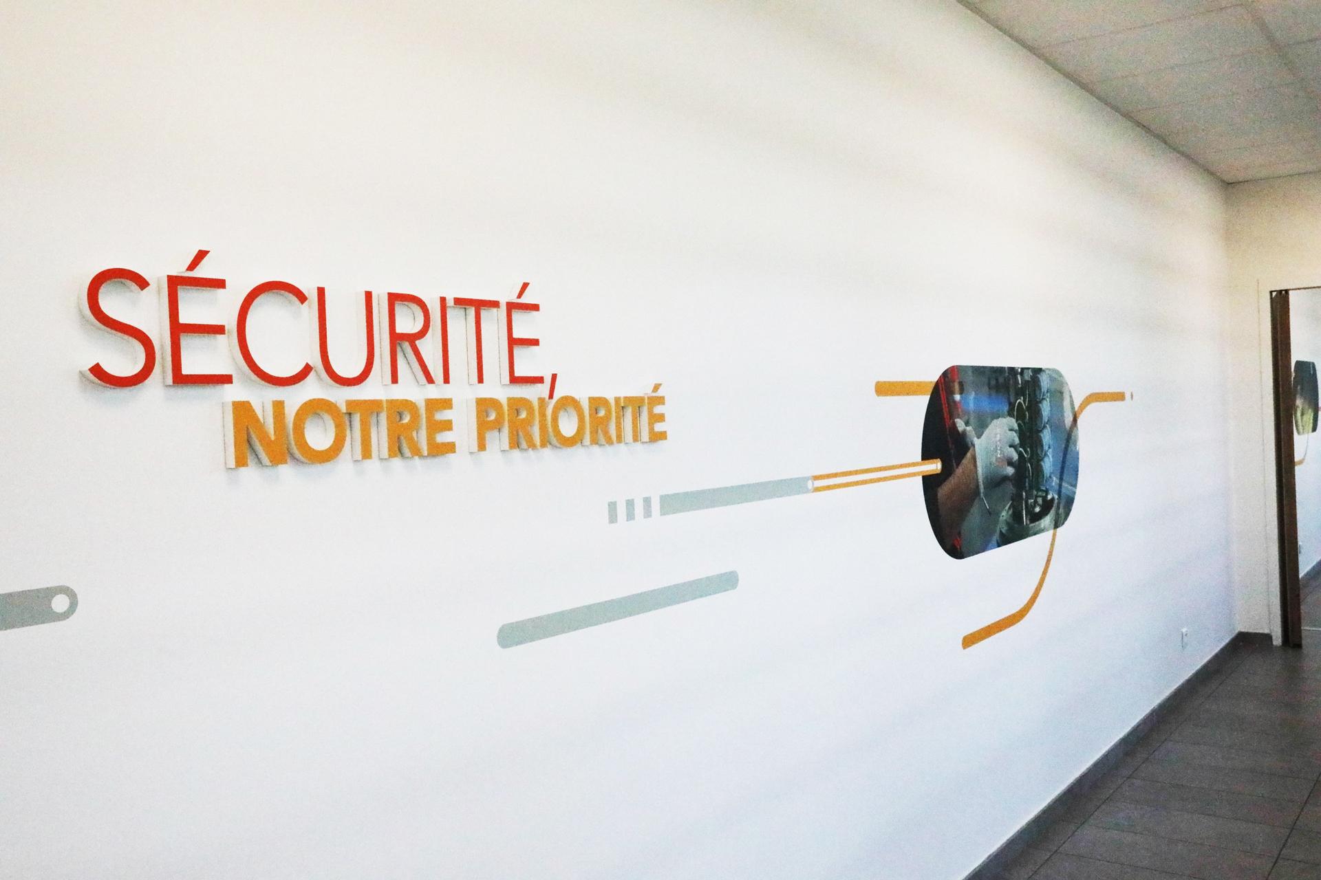 Fresque Sécurité Technicentre Industriel de Vénissieux