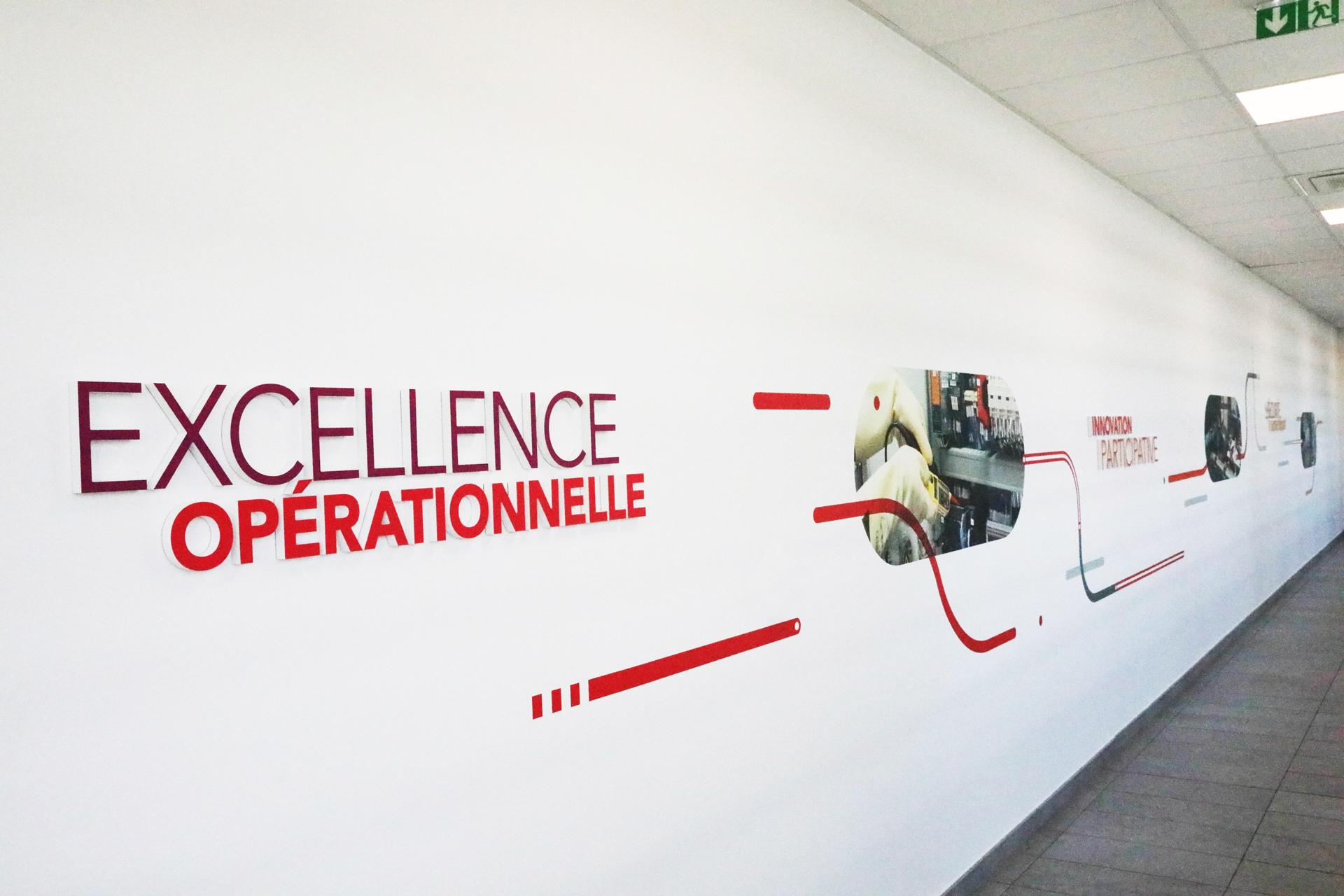 Fresque Excellence Opérationnelle dans le Technicentre Industriel