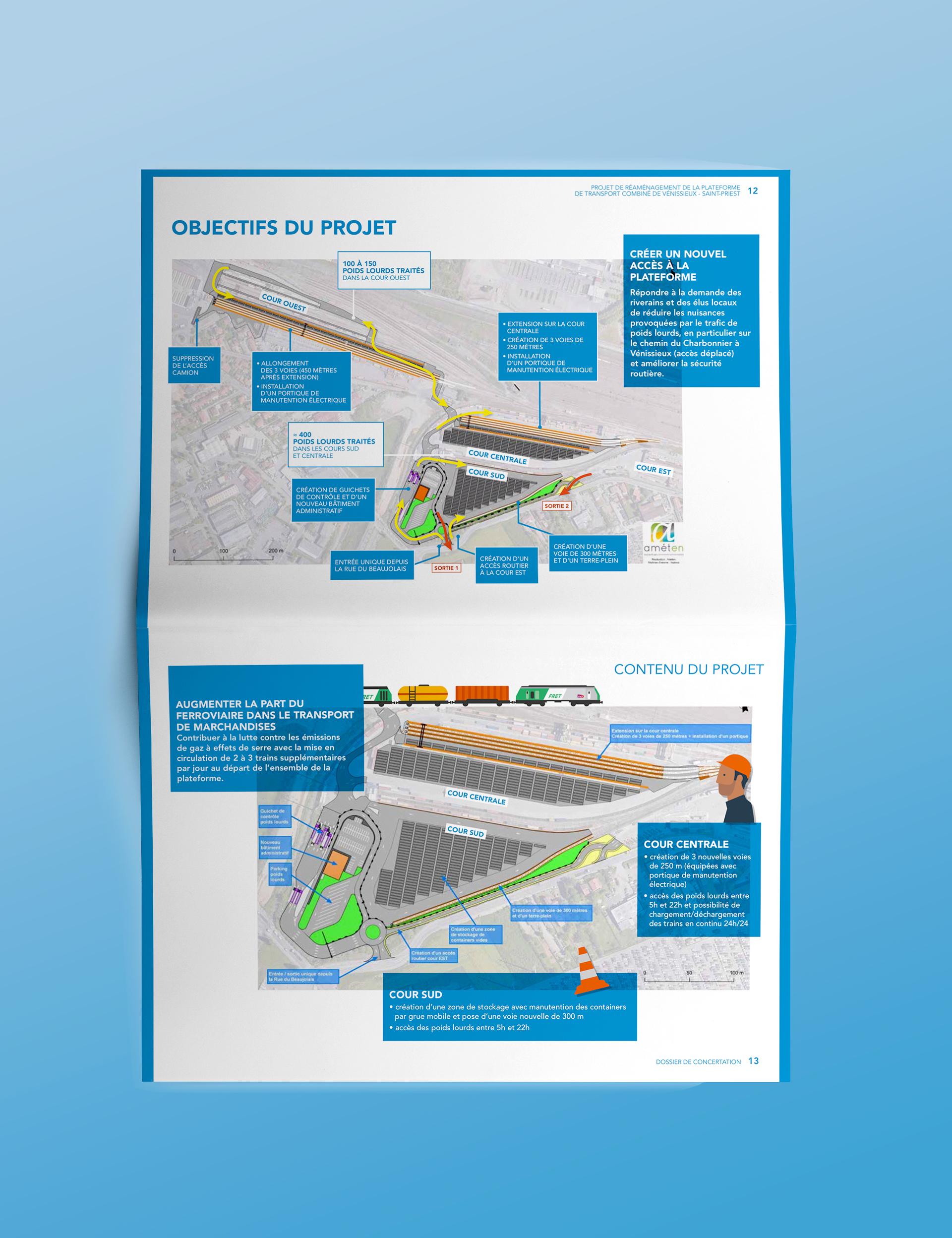 Brochure Objectifs du Projet Ferroviaire