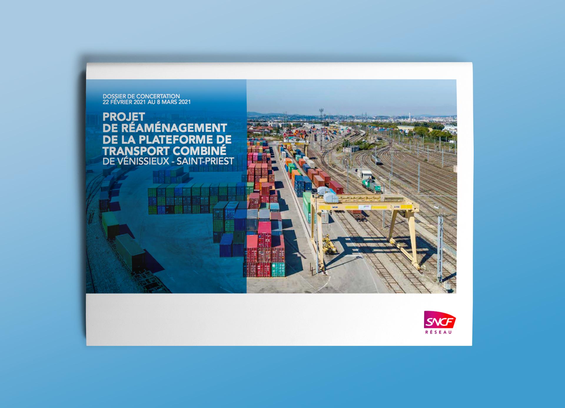 Brochure SNCF Réseau sur le Fret